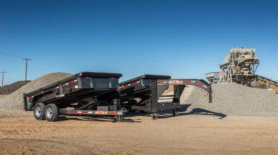 "2018 MAXXD TRAILERS 16' X 83"" LO- PRO GN DUMP TRAILER Equipment Trailer Trailers Elk Grove, CA"