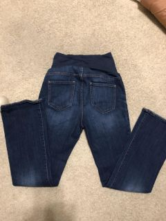 Maternity bootleg jeans small