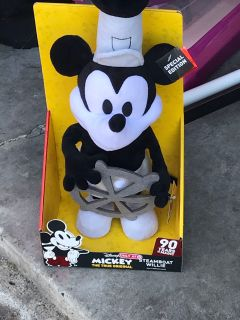 Classic Steamboat Willie Mickey-Brand new in box