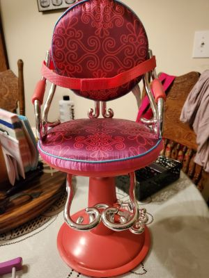 18in doll salon chair American girl