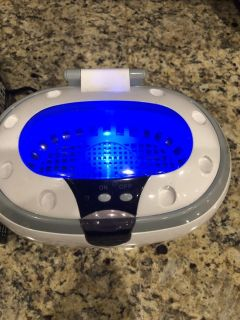 Ultrasonic cleaner for jewelry and small parts