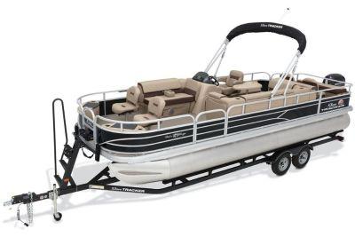 2018 Sun Tracker Fishin' Barge 24 DLX Pontoon Boats Boats Gaylord, MI