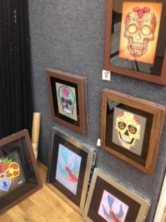 Custom Made Picture Frames any Color Wood or Metal