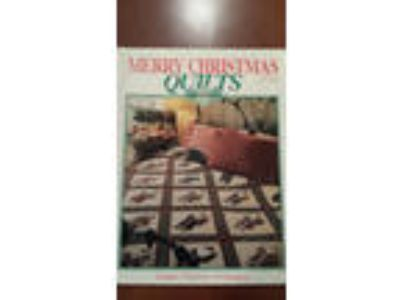 Merry Christmas Quilts - Quilts Made Easy - great condition