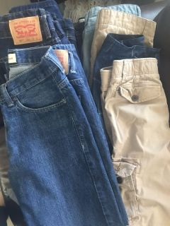 Good condition jeans and shorts lot
