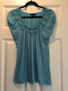 Blue Turquoise Top