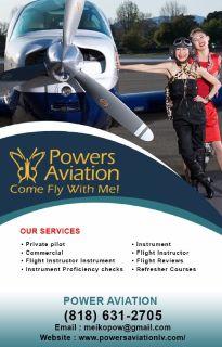 Commercial Pilot Training   Powers Aviation