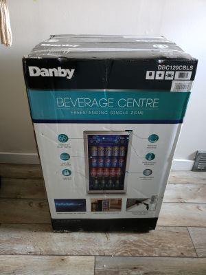 Mini bar fridge.
