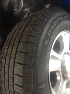 Michelin wheels and tires 16 all 4