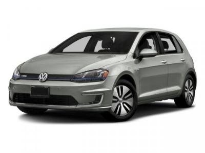 2016 Volkswagen e-Golf SEL Premium (Blue/Black)