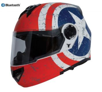 Find Torc Avenger T27 Modular Dual Visor Helmet Rebel Star with Blinc Bluetooth motorcycle in Yorba Linda, California, United States, for US $249.99