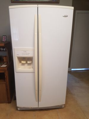 Whirlpool Gold Side by Side Refrigerator