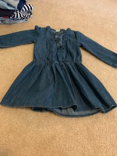 Size 5 Old Navy jean dress