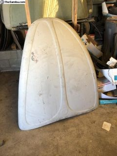 New Early Fiberglas hood