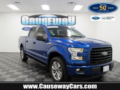 2017 Ford F-150 (Lightning Blue)
