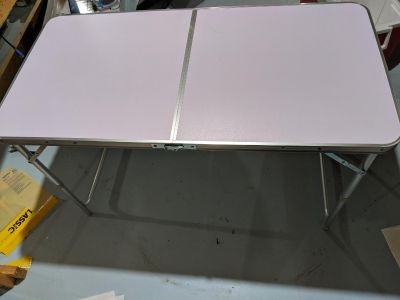 4 ft camp table