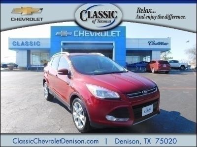 2016 Ford Escape Titanium (Ruby Red Metallic Tinted Clearcoat)