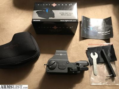 For Sale: Sightmark Ultra Shot Plus Reflex Sight
