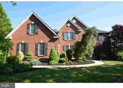 612 Harvest Dr Telford Four BR, Stunning Custom Brick Colonial