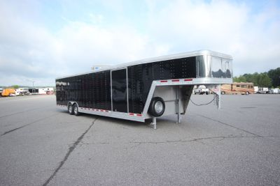 2012 Featherlite Trailers 40ft Aluminum w/ 7,000 lb. Axles E