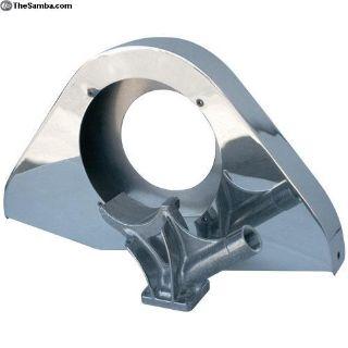 Center mount fan shroud with Alternator stand