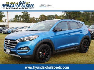 2017 Hyundai Tucson Night (Caribbean Blue)