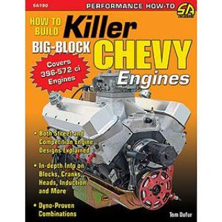 Purchase SA Design SA190 Book: How to Build Killer Big-Block Chevy Engines motorcycle in Delaware, Ohio, US, for US $26.99