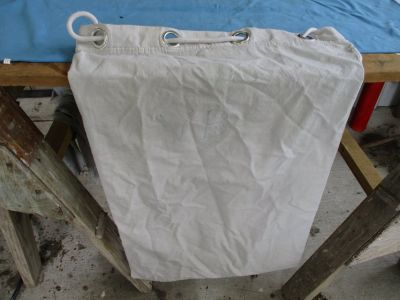 White Duffel Bag