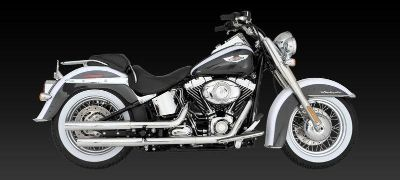 Find Vance & Hines Straightshots Slip-Ons Exhaust 05-12 Harley Davidson FLSTN motorcycle in Ashton, Illinois, US, for US $299.95