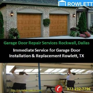 24/7 Emergency Garage Door Repair Services Rockwall, TX – $25.95