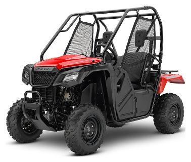 2019 Honda Pioneer 500 Side x Side Utility Vehicles Asheville, NC