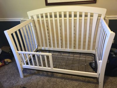 2 and 1 crib/bed