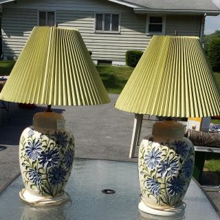 Two Lamps sold as a pair
