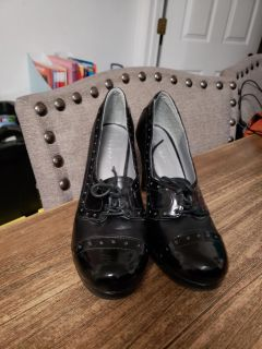 Cute Unionbay Steampunk Style Heels. Size 8. Excellent Condition