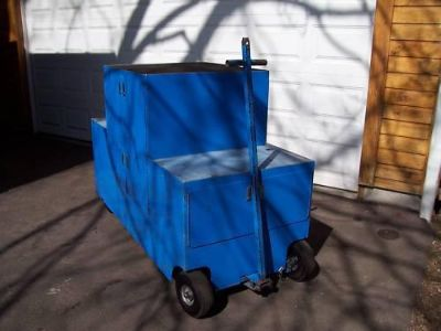"Sell Pit Cart, Pit Box, Pit Wagon: 6 1/2 ft X 4 ft by 32"" motorcycle in Enfield, Connecticut, US, for US $1,450.00"