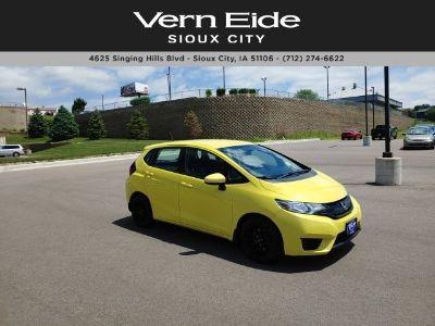 2015 Honda Fit LX (Mystic Yellow Pearl)
