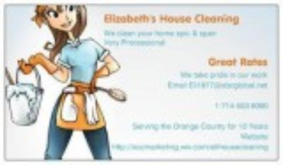 Orange County House Cleaning
