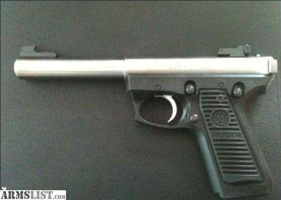 For Sale: RUGER PISTOL 22/45 MK III