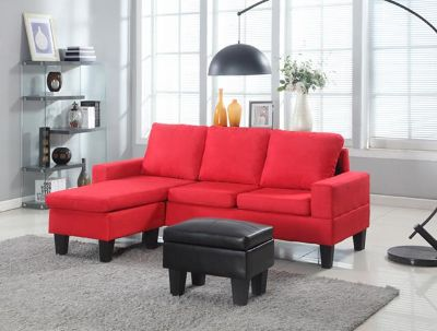 $400, Sectional with Ottoman