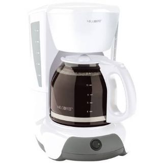 Mr Coffee 12 cup Coffee Maker ~ White