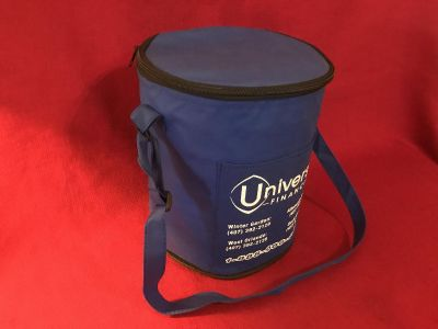 Insulated Bag With Shoulder Strap& Outer Pocket. 9 x11 . EUC