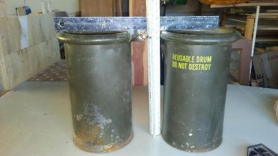 Military Canisters - 2