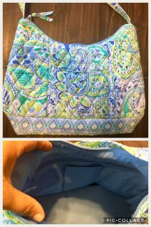 Purse- blue and green