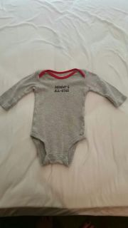 3 month long sleeve onesie