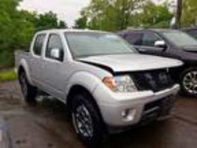 Salvage 2016 NISSAN FRONTIER PRO4X for Sale