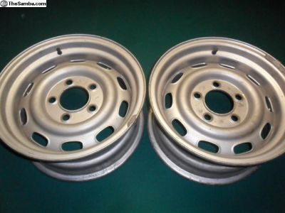 2 original 906 front wheels
