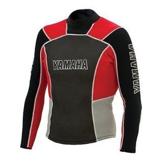 Buy YAMAHA MENS PULLOVER JACKET WETSUIT RED LARGE MAR-13NJK-RD-LG motorcycle in Maumee, Ohio, United States, for US $70.99