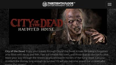 Four tickets available to two Haunted Houses