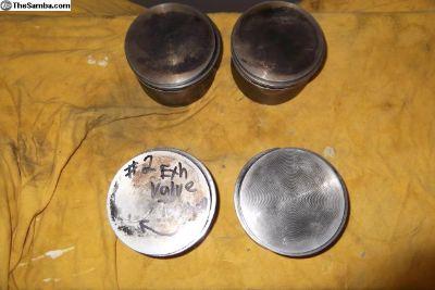 (4) 90.5 mahle b pistons