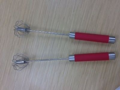 Spinning Prepology Set of 2 Stainless Steel Mixing Whisks